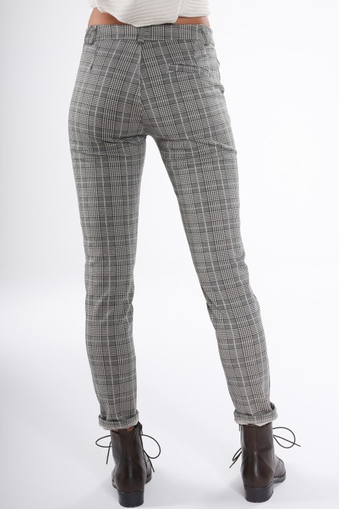 Pantalon à carreaux PAULINE