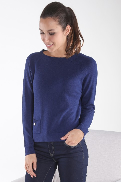 Pull col rond AXEL