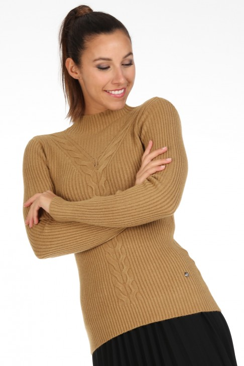 Pull Colette Taupe