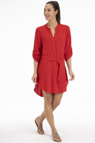 Jupe/Robe Frederique Rouge