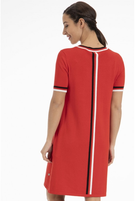 Jupe/Robe Lila Rouge