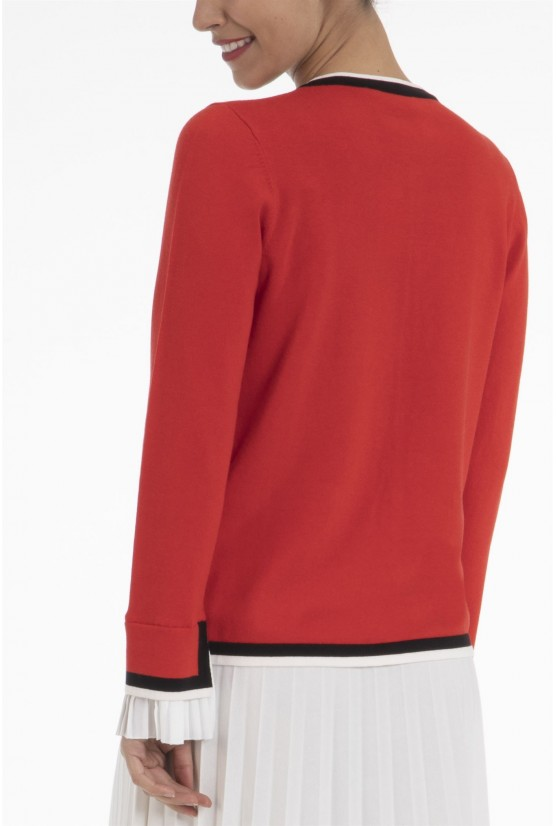 Pull Lilou Rouge