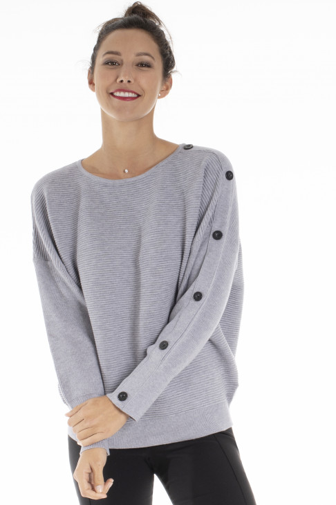 Pull BOBY Gris Clair