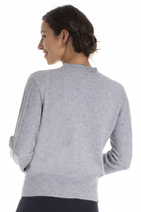 Pull LUNE Gris Clair